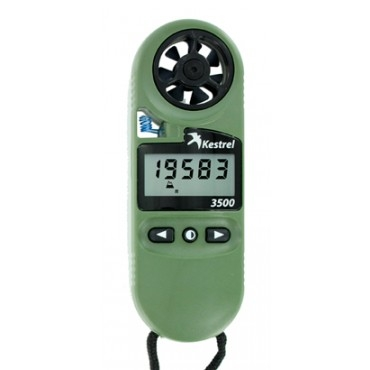 Kestrel 3500 Pocket Weather Meter con visión nocturna Visión general