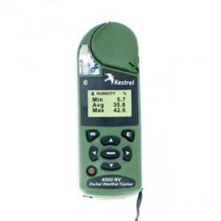 Kestrel 4000NV Weather & Meter Ambiental con Bluetooth en color gris oliva