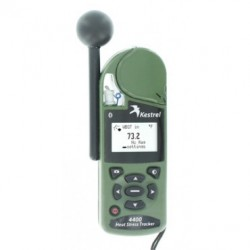 Kestrel 4400NV Heat Rastreador estrés con Bluetooth en color gris oliva