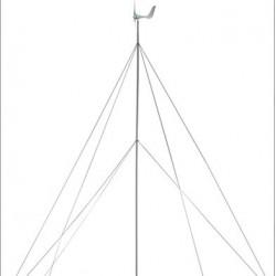 KIT completo de torre de 8.8m para aerogeneradores