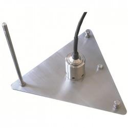 Medidor automático para tanque de evaporación F10