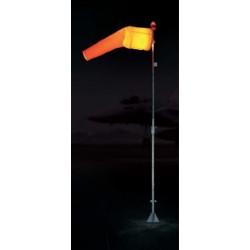 Manga de viento iluminada M1EJ