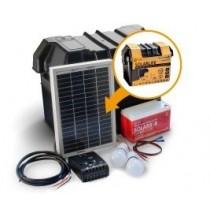 Sistema de iluminación LED solar completa de Off-Grid