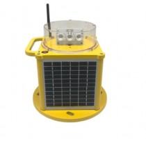 Baliza solar para señalización de helipuertos