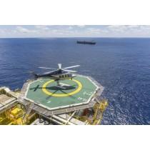 Red de seguridad para helipuertos