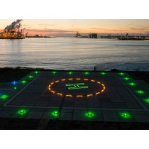 Iluminación circular para pistas de helipuerto