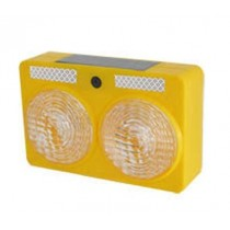 Luces estroboscópicas solares de advertencia