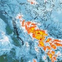 Recepción de imágenes del satélite MSG